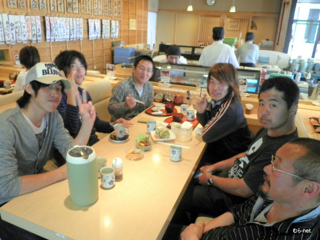 新潟県 回転寿司『花時計』