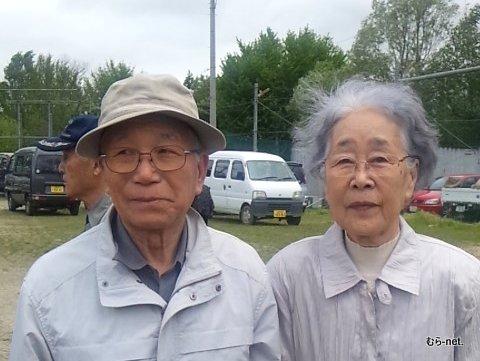 川口夫妻が春日山に