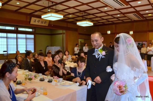 春日山の結婚式