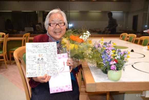 3/15に88歳の誕生日を迎えた松井千里さん