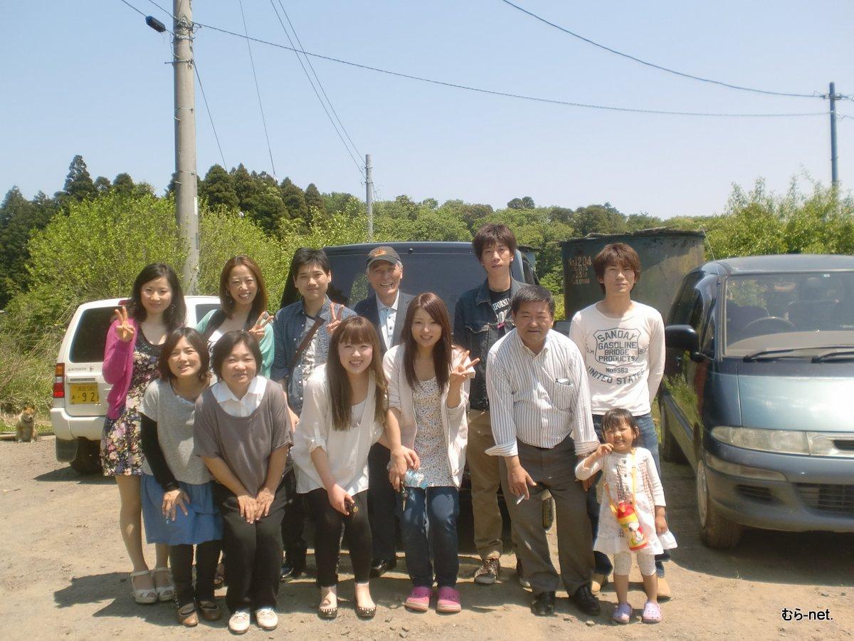 結婚式から、突然成田実顕地訪問