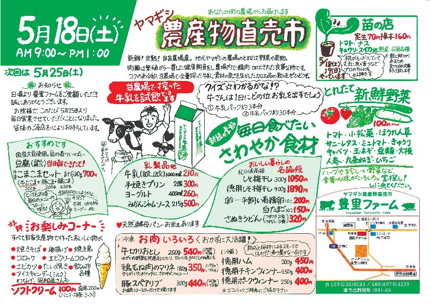 5/14【豊里ファーム】