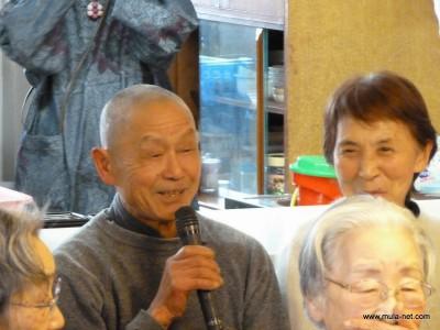 酪農部菊池さん(70才)