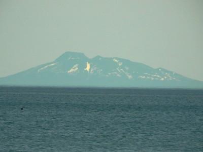 国後島羅臼山