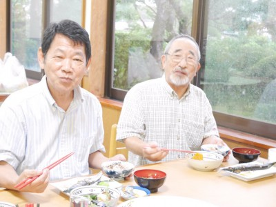 水谷利正さん83歳 竹内勝行さん76歳