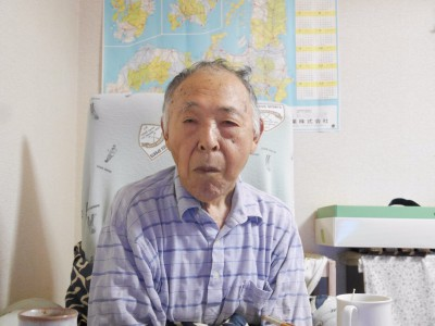 高橋初太郎さん81歳