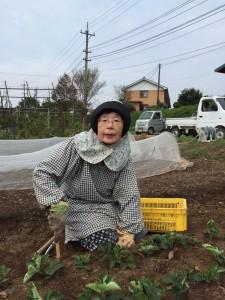 市川乃武子さん(76歳) お漬物を見てくれています。「冬瓜のカレーシチューが食べたいわ〜」とか「ニンニクの効いた辛いものがいいわね〜」などと、時々メニューのヒントをくれます。