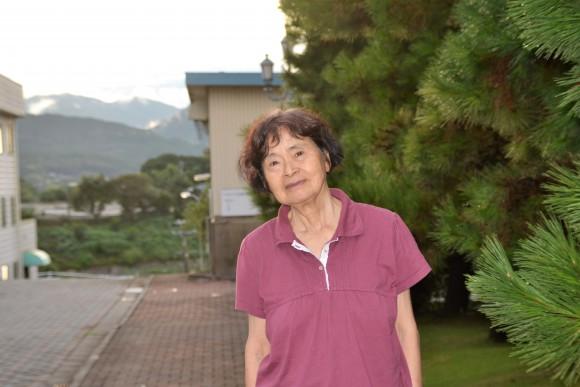 川瀬典子(75)ここからの景色が好きです。