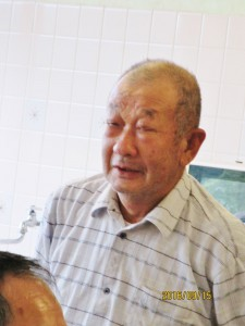浅野盛治  80歳  ダジャレが得意なせいちゃん 菜園に精出してます