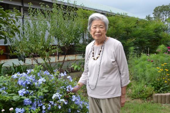 泉キヌ(93)日記は学校時代から続けています。先日はみんなと佐川美術館に行ってきました。