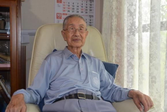 佐貝貞夫(92)今はパラリンピックに感動の毎日