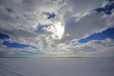 風連湖の結氷