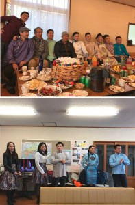 モンゴルのお正月 2018年 豊里
