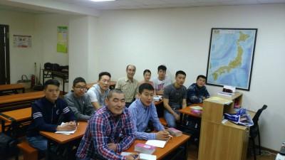 日本語教室のメンバー