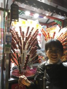 北京観光も用意してもらいました