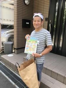 小川さん:「一生チラシまきをしていてもいいなぁ」