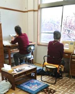 まるで姉妹!? 勝子さんと林子さん。 師岡君江
