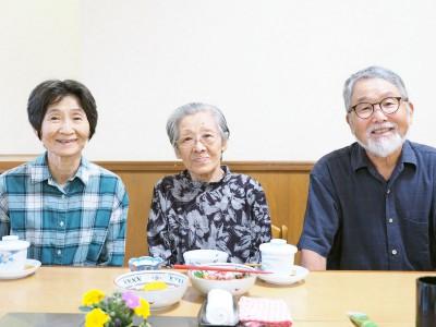 中村健夫さん・芙美子さん・林孝子さん