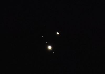 木星と衛星 土星