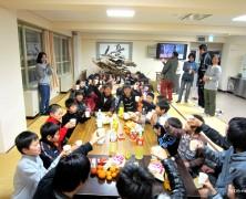 6実顕地の子ども達が集まる【スキー合宿】