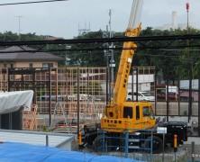 新多摩供給所の建設着工