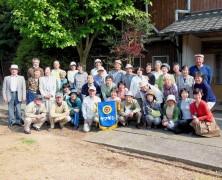 春日山より九州の旅29名がやって来た【西海】