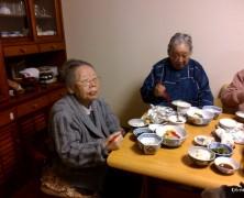 サキさん95歳誕生日会食【内部川】