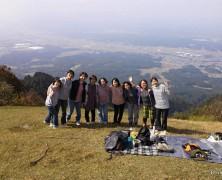 霊山登山へ 【女子会】