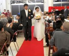 波田幸雄さん・髙木利佳さん結婚式