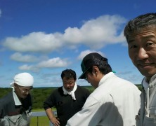 別海実顕地の牧草収穫交流をやってみて