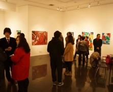 ソウルで韓国の若手会員がアート展覧会を開催
