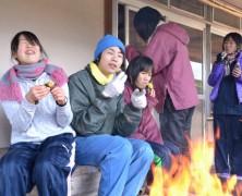 盛りだくさんだった冬の中学生楽園村