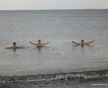 モンゴル実習4期生海へ行く