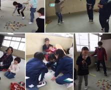 昔の遊び  in 高野尾小学校