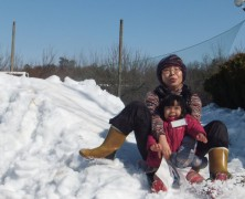 雪のふるさと村in岡部