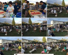 特講同窓会を春日山で開催