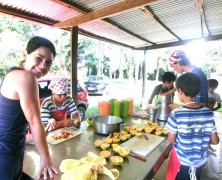 ブラジルだより楽園村を開催