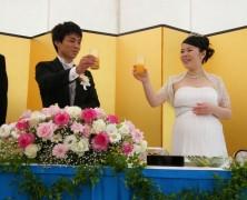 杉崎浩章  桃子  結婚式