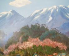 3月の絵『残雪』