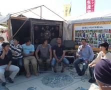 東京お台場「土と平和の祭典」を青年研と創る
