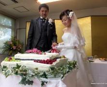 稲田さん巳紀子さんの結婚式