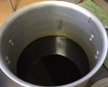 卵油製造スタート!