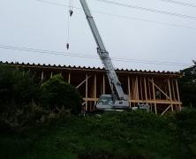 新生活館の建設始まる