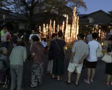 川渕皓平さんの竹灯り