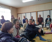 岡部実顕地にて60-70代の研鑽会