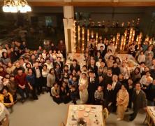 祝 福田陽光さん、澤田夏紀さん結婚式