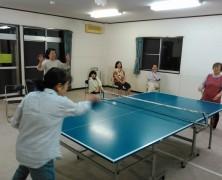 初めての卓球大会を開催