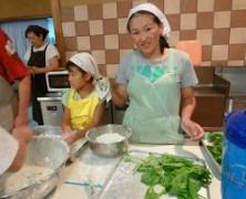 今夜はベジタ部主催の夏野菜の天ぷら♪