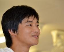 山崎彰久さん(春日山)、韓国実顕地へ 一年間の交流