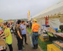別海町産業祭に「ヤマギシの店」